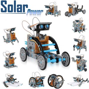 CIRO solar robot kit 12 in 1 educational STEM learning science building toys for kids