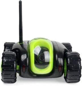 JAMOR Home Patrol Robot Mobile Remote Control Video Car
