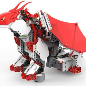 UBTECH JIMU Robot Mythical Series: Firebot Kit/ App-Enabled Building & Coding STEM Robot Kit