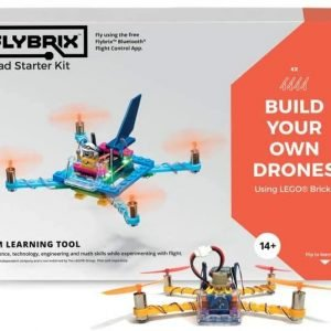 FlyBrix Electronic Quadcopter Drone Starter Kit – Stem Learning Tool