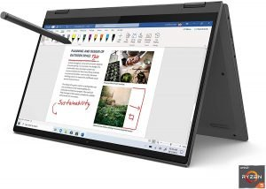 Lenovo Flex 14 2-in-1 Convertible Laptop, 14 Inch FHD Touchscreen Display