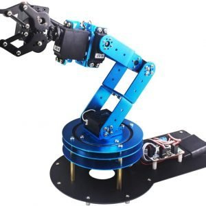 LewanSoul 6DOF Robotic Arm Kit for Arduino STEAM Robot Arm Kit with Handle PC Software and APP Control