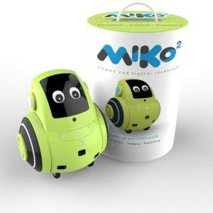 Miko 2: Playful Learning STEM Robot | Programmable + Voice Activated AI Tutor + Autonomous + Educational Games | 30+ Free Apps | Best Birthday Gift