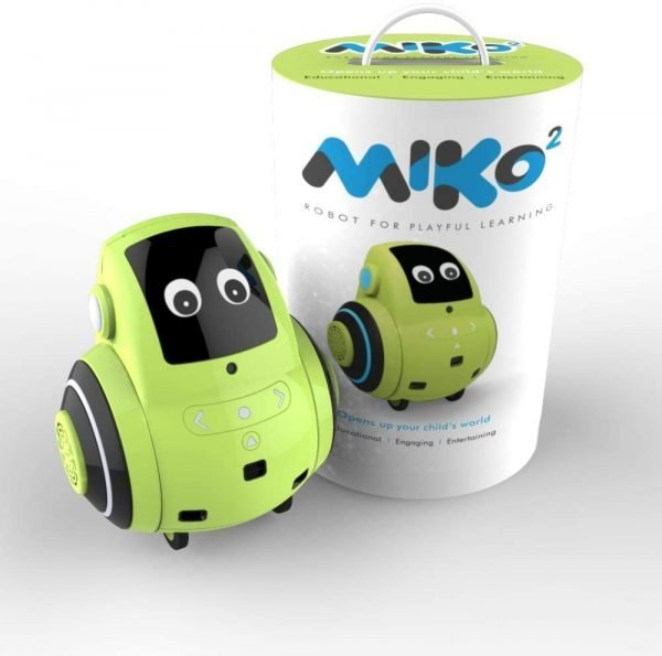 Miko 2: Playful Learning STEM Robot   Programmable + Voice Activated AI Tutor + Autonomous + Educational Games   30+ Free Apps   Best Birthday Gift