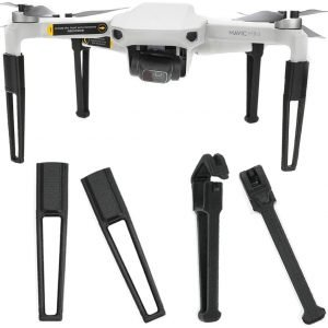 RCGEEK Compatible with DJI Mavic Mini Landing Gear Feet Leg Extenders 3D Printed Height Extending Kit with Silicon Shockproof