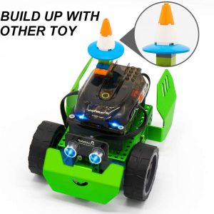 STEM Robot Kit - DIY Mechanical Building Robotic Coding Kit with Remote Control for Kids Teens
