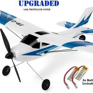 Top Race Rc Plane 3 Channel Remote Control Airplane Ready to Fly Rc Planes for Adults, Easy & Ready to Fly, Great Gift Toy for Adults or Advanced Kids
