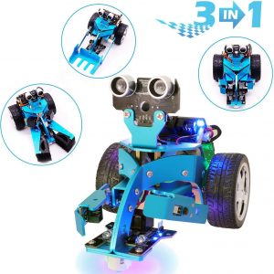 Yahboom Micro:bit Smart Robot Kit DIY 3 in 1 Toys Car STEM Education for 10+ Kids to Learning
