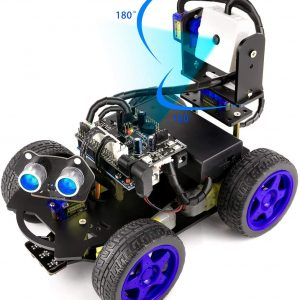 Yahboom UNO R3 DIY Smart Robot Car Kit with Camera STEM Education