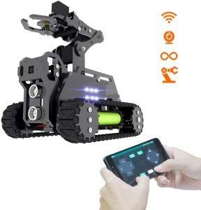 Adeept RaspTank WiFi Wireless Smart Robot Car Kit for Raspberry Pi 3 Model