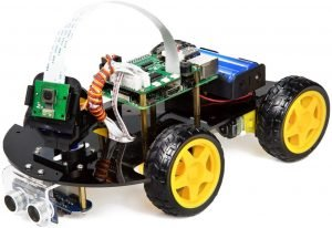 UCTRONICS Robot Car Kit for Raspberry Pi - Real Time Image and Video, Line Tracking