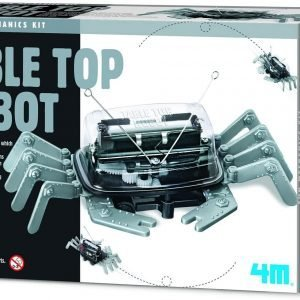 Table Top Robot – DIY Robotics Stem Toys, Engineering Edge Detector Gift for Kids & Teens, Boys & Girls