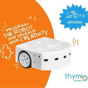 TechyKids.com Thymio Robot Wireless